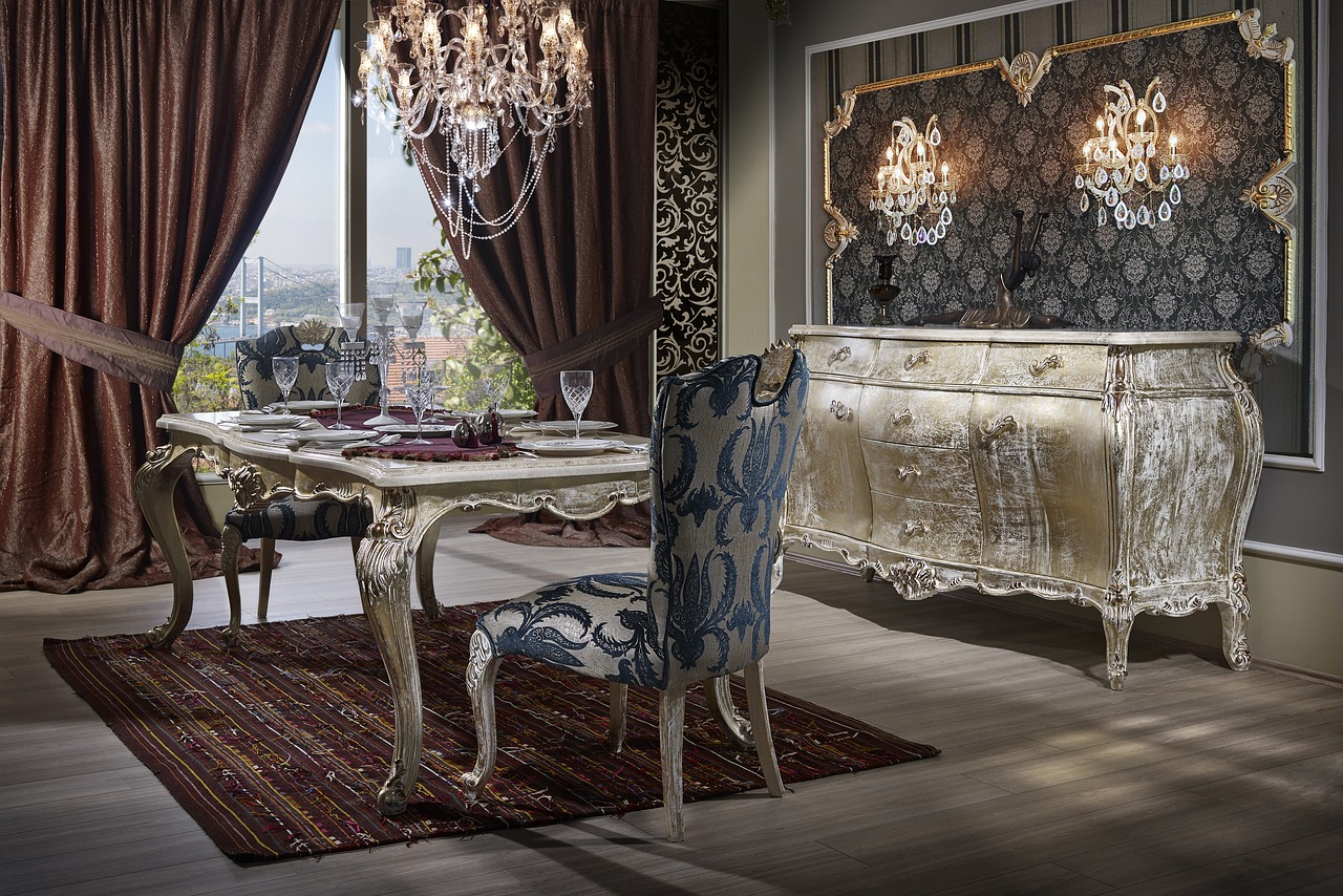 Conoce la tendencia de decoración luxury